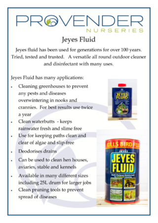 Jeyes Fluid Factsheet